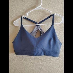 Zella XL Blue Yoga Athletic Sportsbra